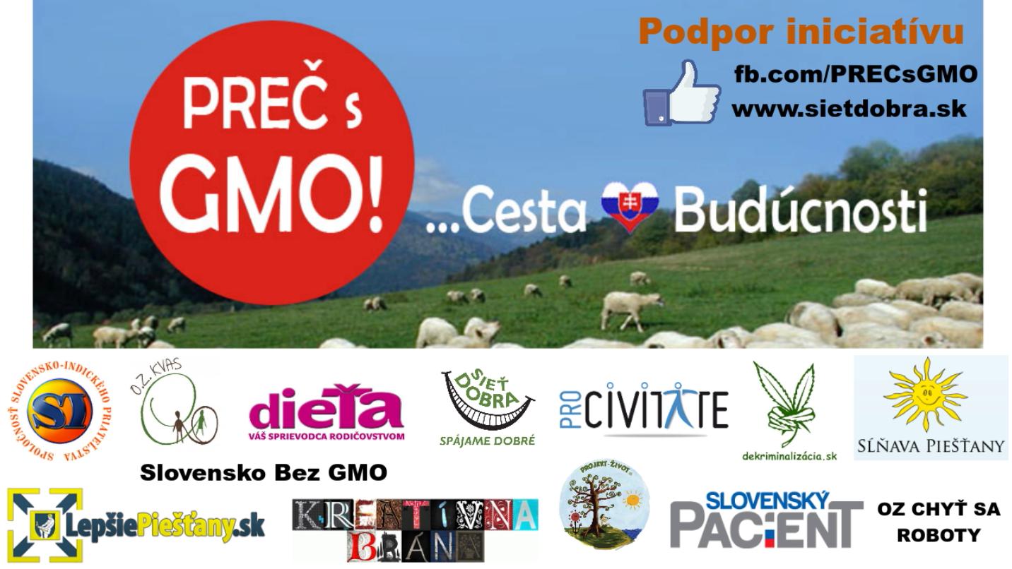 """Iniciatíva """"PREČ s GMO: Cesta Budúcnosti"""" zvoláva stretnutie na GMO poli v Borovciach."""