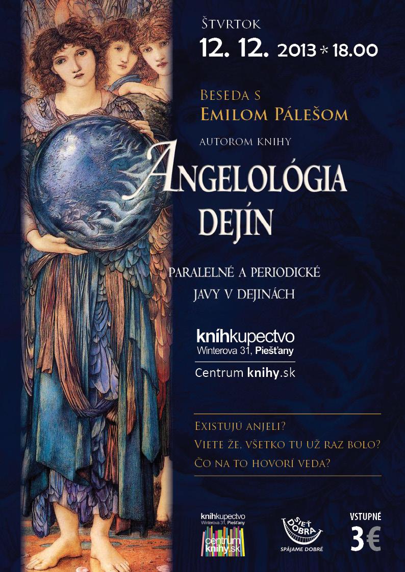 Dr. Emil Páleš: Beseda o Anjeloch, Slovanoch a Živote okolo nás