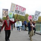 Protesters went to the streets of Piešťany for the first time since Velvet Revolution. Marched for Slovakia without GMO.